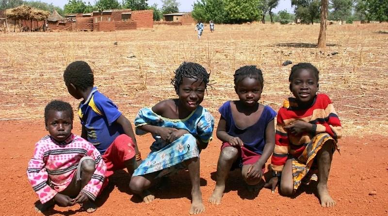 Children Africa Burkina Faso Nanoro