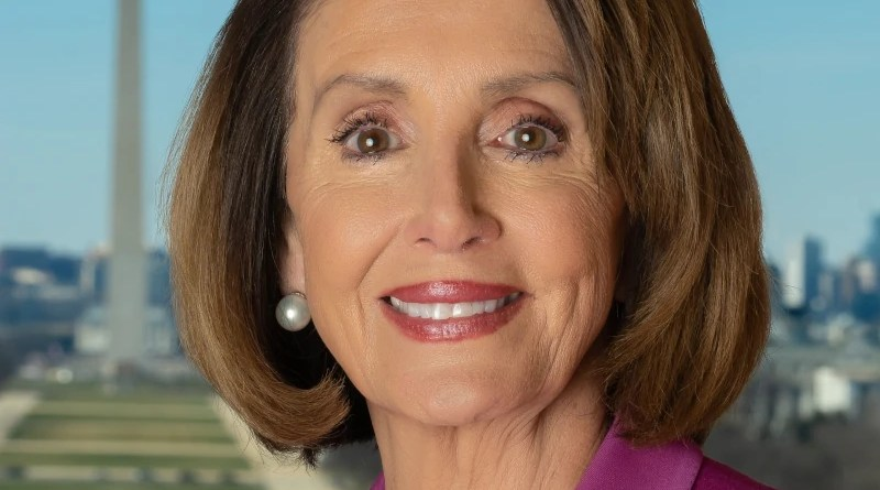 Official photo of Speaker Nancy Pelosi. Photo Credit: United States House of Representatives, Wikipedia Commons