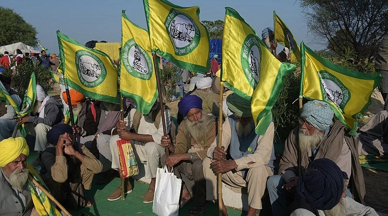 File photo of Farmers Protest in India. Photo Credit: Randeep Maddoke, Wikipedia Commons