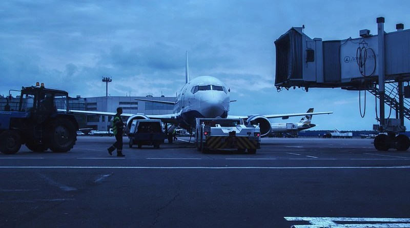 Airplane Airport Domodedovo Moscow Russia Plane Ural Air