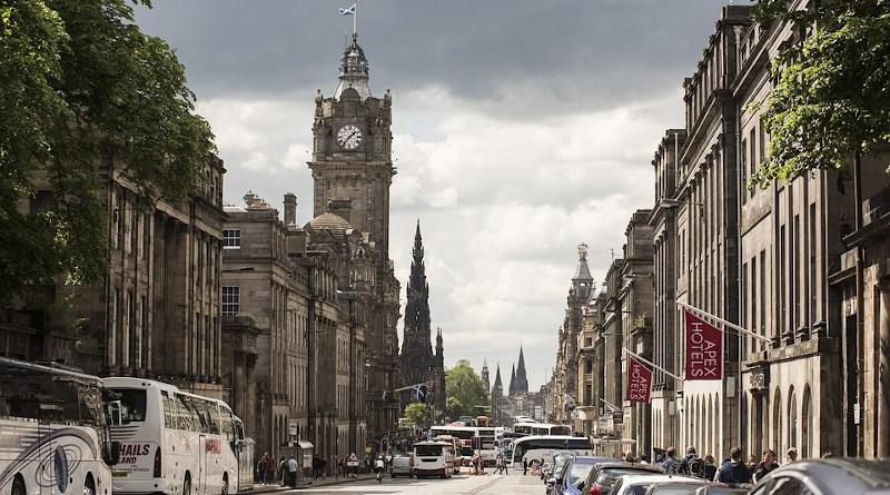 Edinburgh Scotland City Uk Architecture Landmark