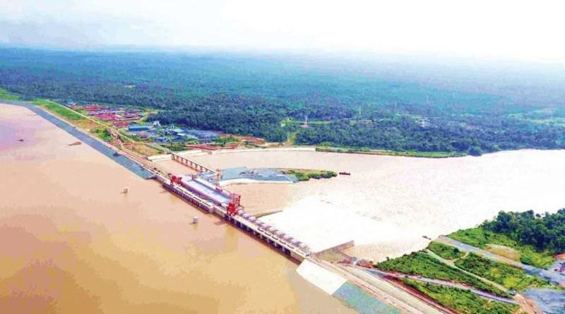 Cambodia's Lower Sesan 2 dam. Photo Credit: Hydropower Lower Sesan II Co Ltd