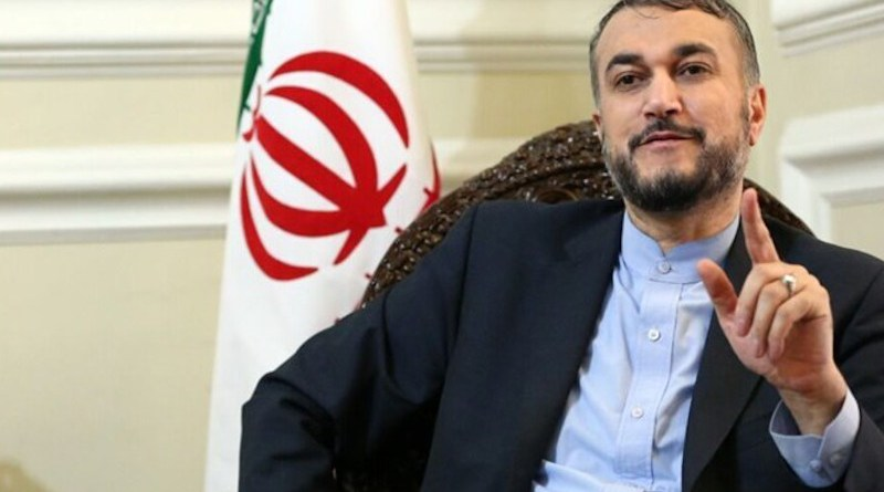 Iran's Hossein Amir-Abdollahian. Photo Credit: Fars News Agency