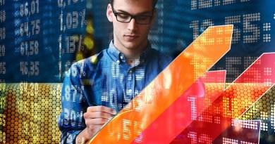 Stock Market Trading Man Entrepreneur Development Success Idea
