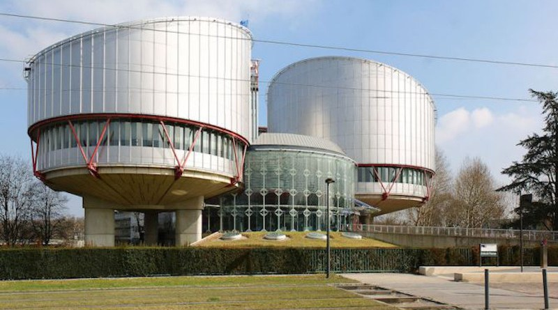 The European Court of Human Rights in Strasbourg, France./ CherryX via Wikimedia (CC BY-SA 3.0).