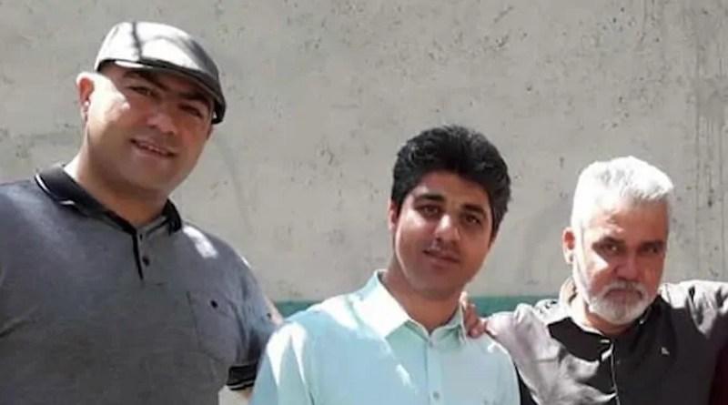 Iranian Christian converts Milad Goudarzi, Ameen Khaki, and Alireza Nourmohammadi. Photo Credit: Iran News Wire