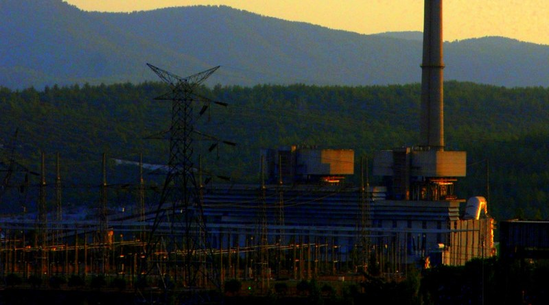 Yeniköy Power Plant in Milas, Muğla, Turkey. Photo Credit: Memty, Wikipedia Commons
