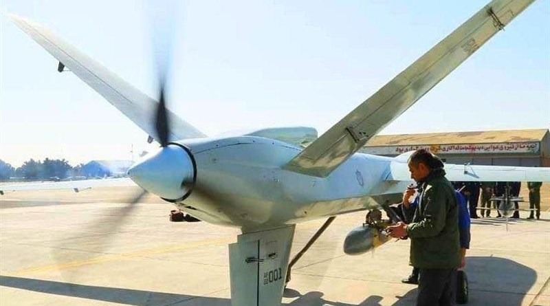 Iranian Air Force drone. Photo Credit: Tasnim News Agency