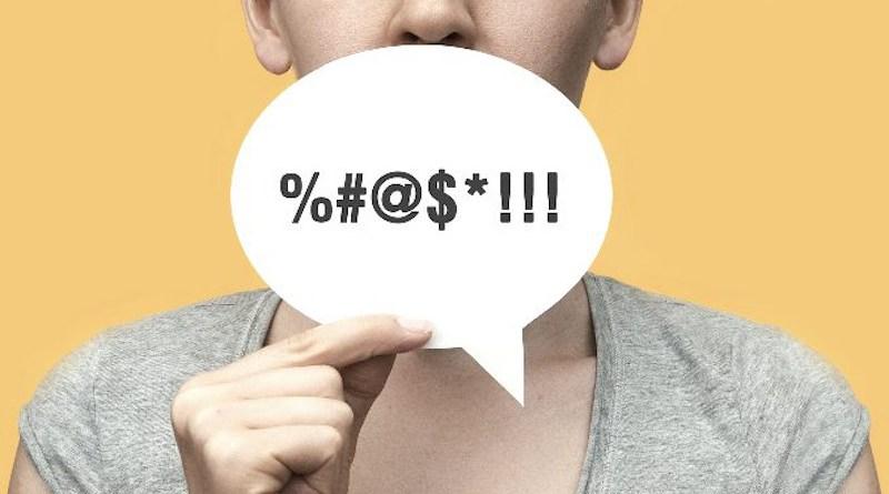 swearing language talking