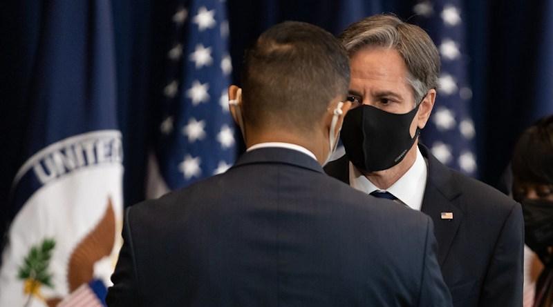 File photo of Secretary of State Antony J. Blinken [State Department photo by Ron Przysucha/ Public Domain]