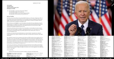 Iran professional letter to president biden