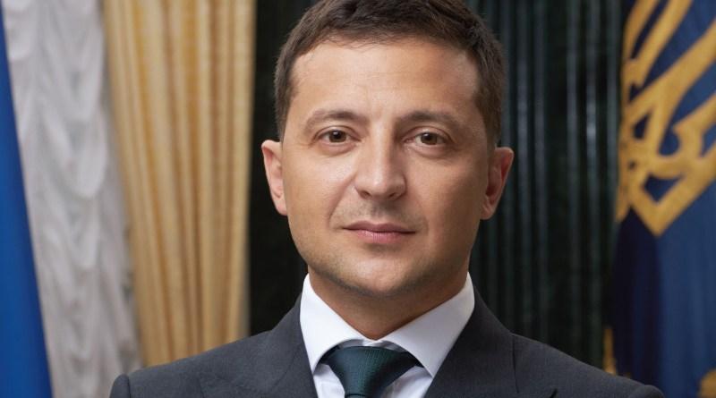 Ukraine's President Volodymyr Zelensky official portrait. Photo Credit: Ukraine President Office, Wikipedia Commons