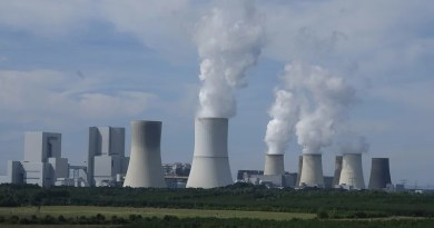 energy Industry Power Plant Nuclear Power Plant Chimney