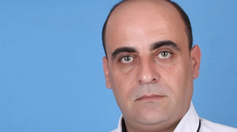 Palestinian activist Nizar Banat. Photo Credit: Wikipedia Commons