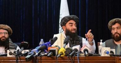 Taliban spokesman Zabihullah Mujahid holds press conference in Afghanistan. Photo Credit: Fars News Agency