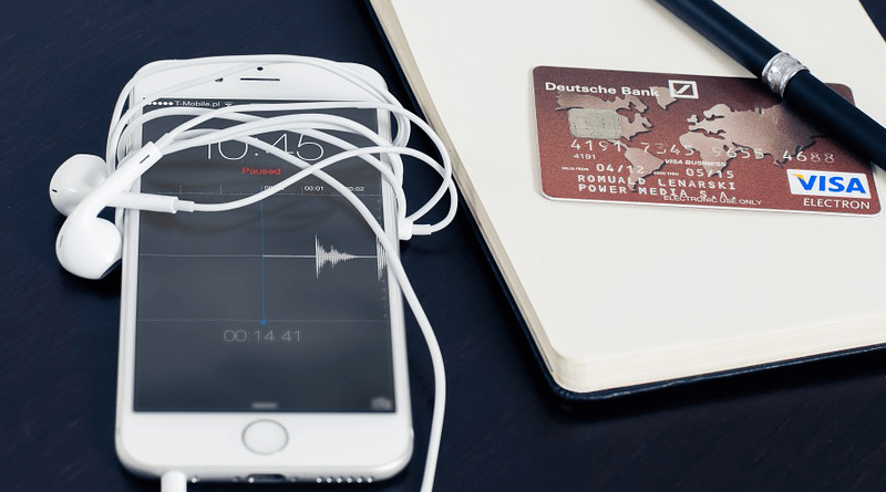 Iphone Visa Business Buying Card Cellphone Smartphone