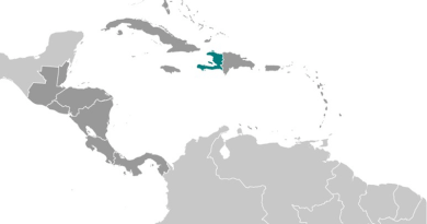 Location of Haiti. Credit: CIA World Factbook