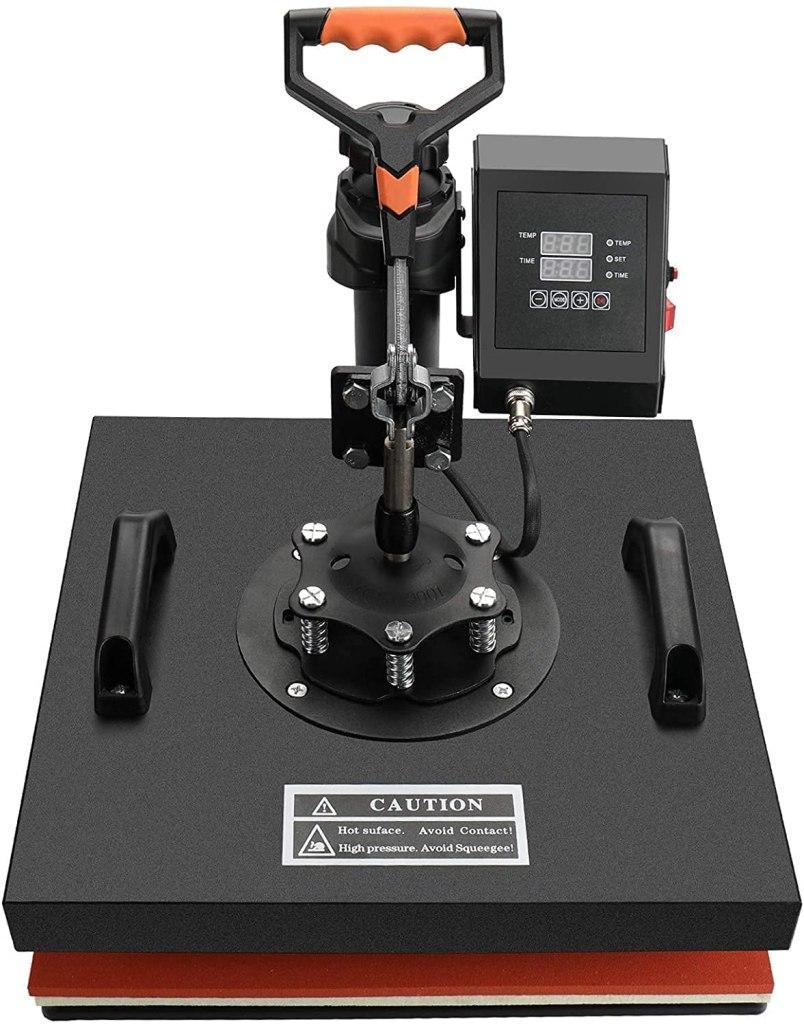 transfert thermique - presse à chaud - sublimation