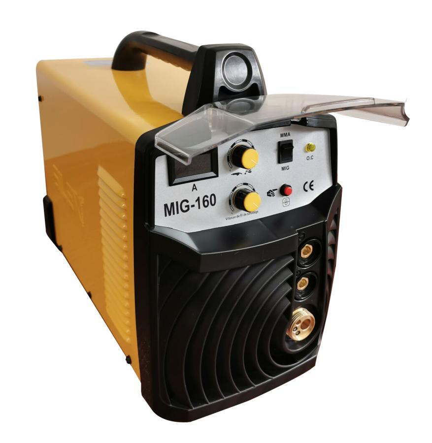 poste à souder combiné MIG-160 MIG MAG & MMA IBGT inverter GAZ NO GAZ 160A Silex