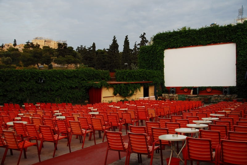 Best open air cinemas in Athens