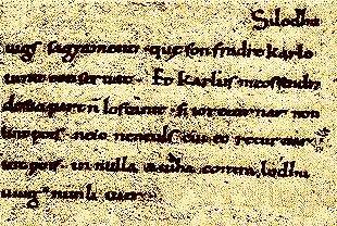 photographie du manuscrit