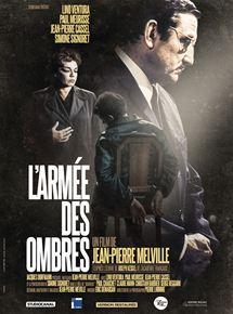 Affiche du film L'Armée des ombres de Melville