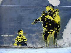 Peinture murale de Noaz Palestine