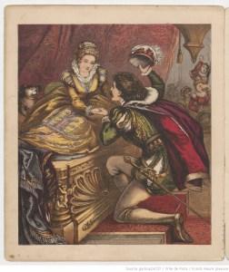 Illustartion de la Belle au bois dormant de Perrault