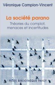 couverture du livre La société parano