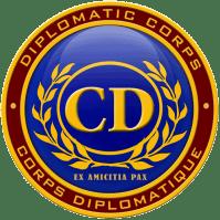 plaque du Corps diplomatique