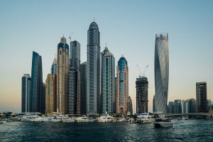 Photographie de buildings de Dubaï