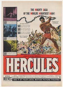 affiche du film Hercules