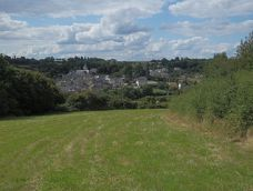 Vue générale du village de Courdemanche