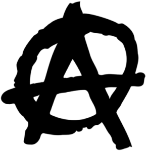 Symbole de l'anarchisme, un A dans un cercle