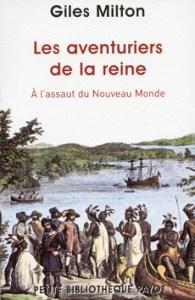 couverture du livre Les aventuriers de la reine