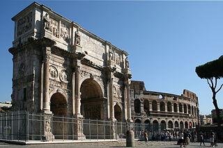 Je dois rendre un dossier sur l'Arc de Constantin à Rome dans peu de temps, je manque cruellement d'informations pour créer une analyse artistique complète