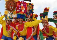 J'aimerais travailler sur le cas des foires et carnavals en Colombie, les manifestations culturelles et traditionnelles en plein air