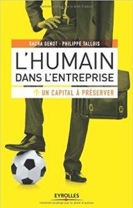 couverture du livre L'humain dans l'entreprise