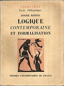 couverture du livre Logique contemporaine et formalisation