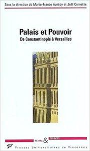 couverture du livre Palais et pouvoir
