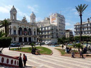 Photographie de la Place du théâtre d'Oran