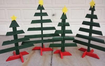 Je souhaite fabriquer un sapin de Noël en bois, auriez vous des tutoriels à me proposer ?