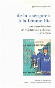 couverture du livre De la sergote à la femme flic