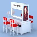 Beauty Bar w:stools
