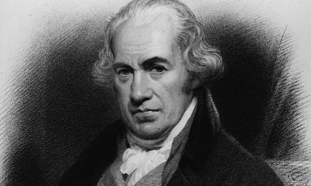 Buharlı Makinenin mucidi James Watt