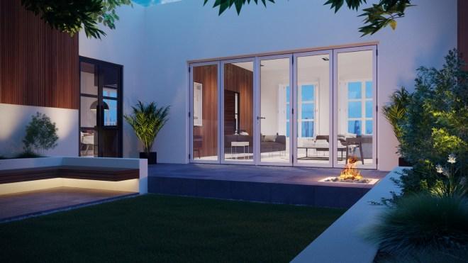 Warmcore Homes Aluminium-Bi-Folding-Doors-Contemporary-Exterior-Closed-Final-HR-V01-02