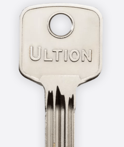 Genuine Ultion Key Cutting