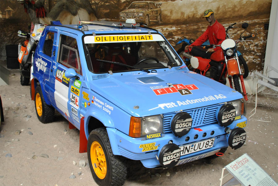 The iconic fiat panda 4 4 d b r c racing for Panda 4x4 sisley off road