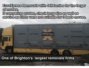 Brighton Removals services