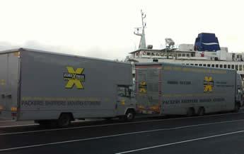 courier service surrey lorry